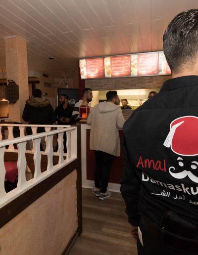 Arabisch essen gehen in Gütersloh. Amal Damaskus Gütersloh - syrisches Restaurant im Umkreis von Bielefeld